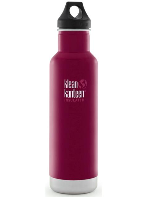 Klean Kanteen Classic Vacuum Insulated Drinkfles met Loop Cap 592 ml roze